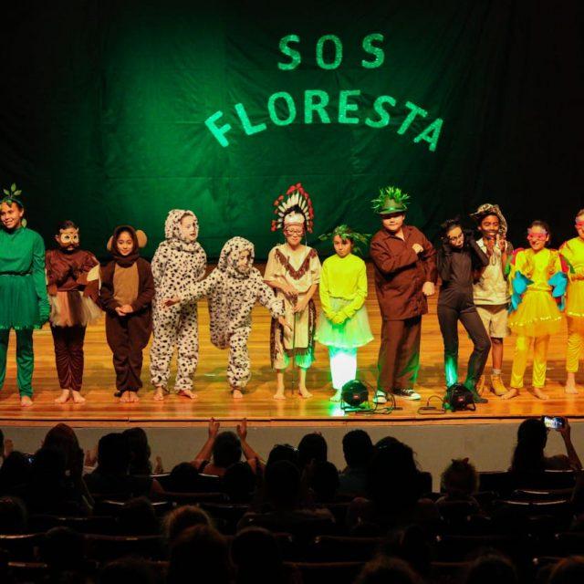 Abertura do X FESTPAR aconteceu com apresentação da peça SOS Floresta