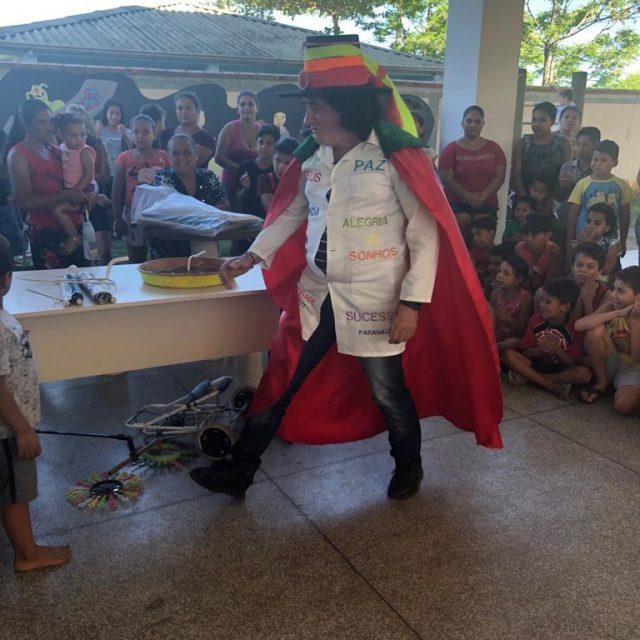 Evento no CEU das Artes reuniu aproximadamente 200 crianças