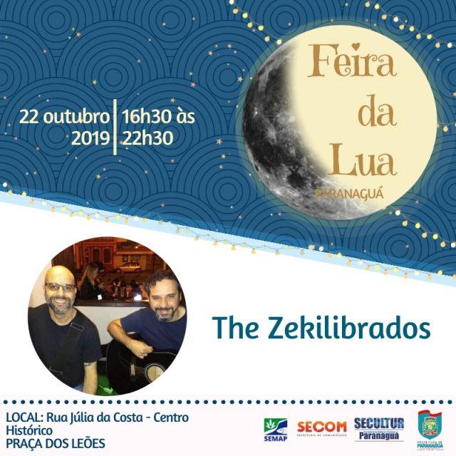 The Zekilibrados anima a Feira da Lua nesta terça-feira