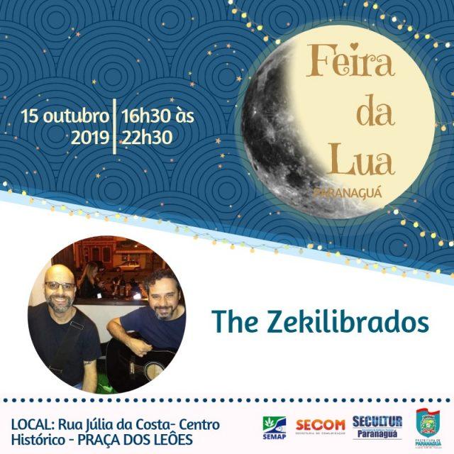Amanhã The Zekilibrados anima a Feira da Lua