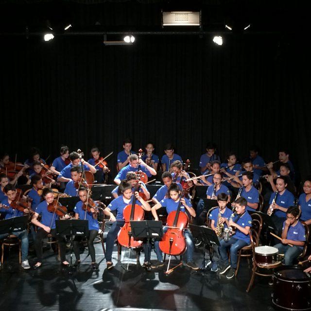 Tudo pronto para o 3º Concerto itinerante da Orquestra do projeto Garoto Cidadão em Paranaguá