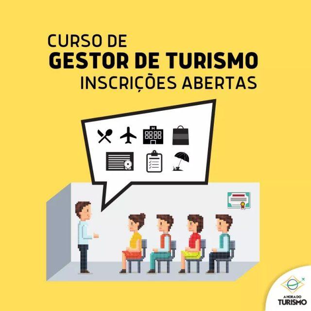 Inscrições para o curso de Gestor de Turismo estão abertas