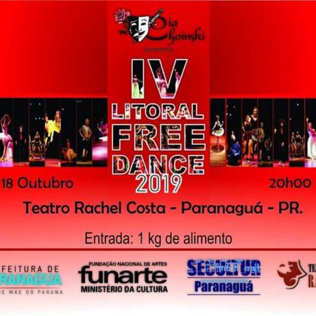 Teatro Rachel Costa é palco do IV Litoral Free Dance