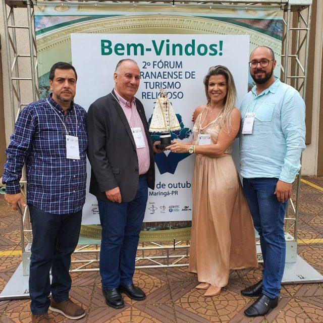 Equipe da Secultur participa do II Fórum de Turismo Religioso do Estado do Paraná