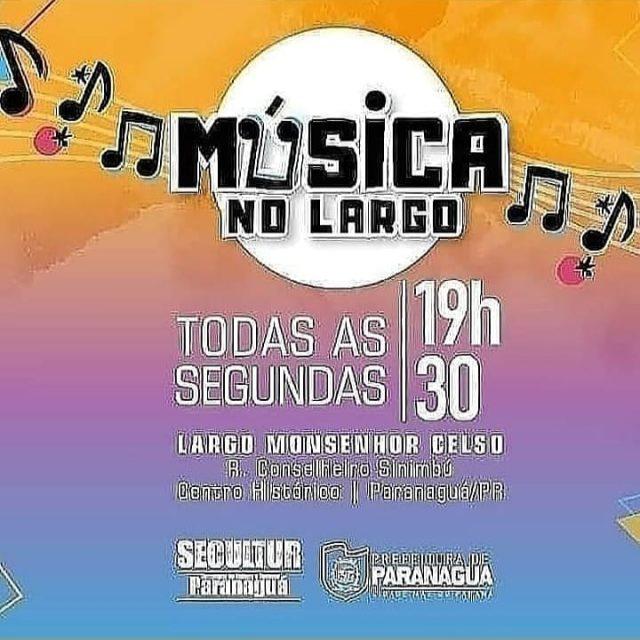 Hoje é dia de Música no Largo